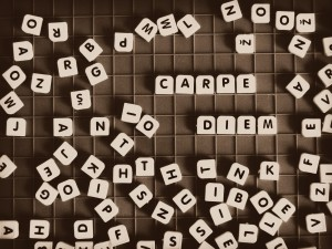 Carpe diem - writing tips