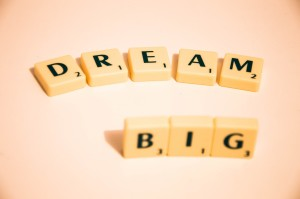 Dream big - writing tips