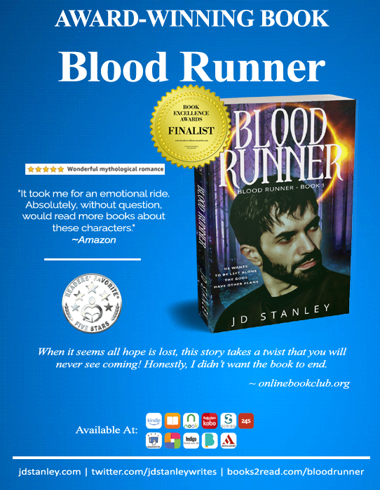 Blood Runner - Book Excellence Award Finalist poster
