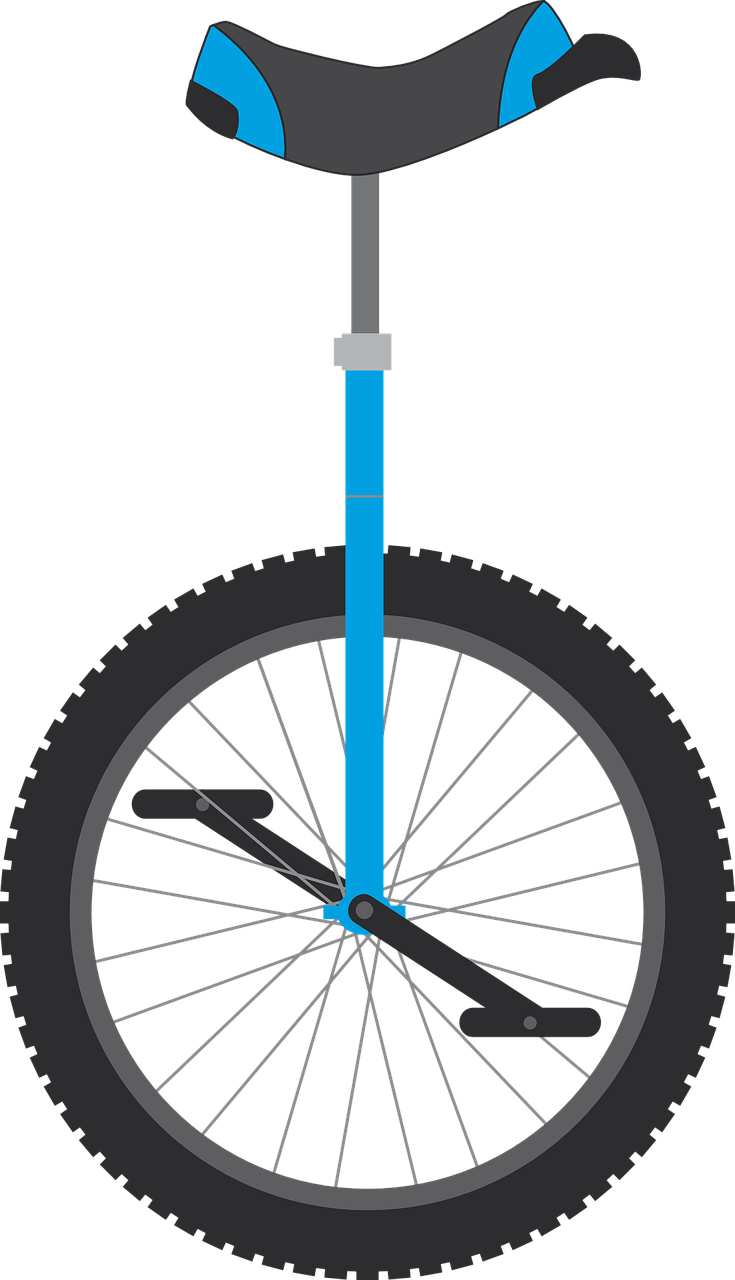 unicycle-763714_1280