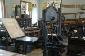books - old printing press - news-744308_1280