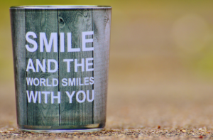 smile and the world smiles with you - create harmony around you