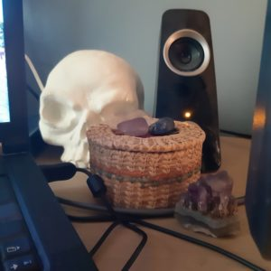 my desk - more stuff