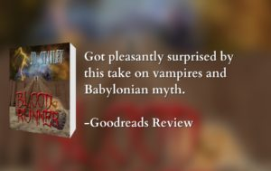 Blood Runner, Goodreads book review