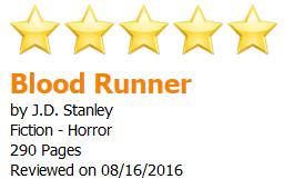 Blood Runner - 5 star readers favorite review