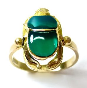 scarab ring - Egyptian magic