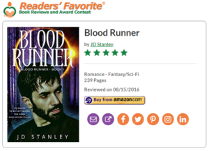 Blood Runner 5 star review Readers Favorite