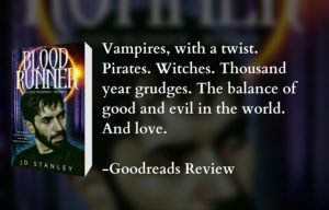 Book Review - Blood Runner, Vampires, with a twist. Pirates. Witches. Thousand year grudges. The balance of good and evil in the world. And love.
