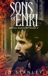 Sons of Enki - Blood Runner, Book 2, fantasy series