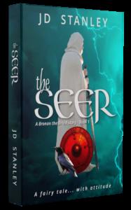 Epic Historical Fantasy series Bronan the Druid, Book 1 - The Seer