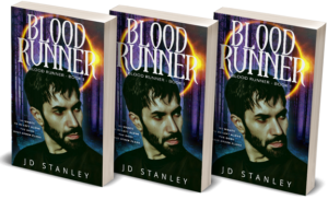 Blood Runner front cover