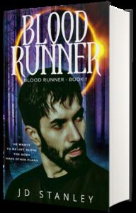 Blood Runner hard cover