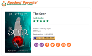Review - The Seer, Readers Favorite 5 star review