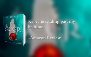 Review - The Seer, kept me reading past my bedtime
