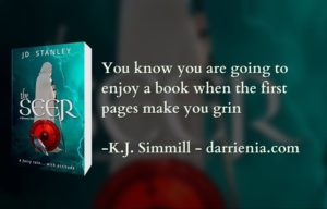 review The Seer via K.J. Simmill